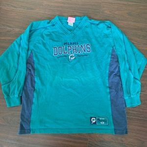 Vintage Miami Dolphins Longsleeve shirt large